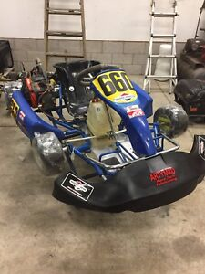 Clean race ready kart