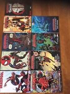 Marvel Deadpool Graphic Novels Comic