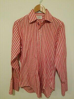 Vintage 1960s Sero Shirtmakers Striped Dress Shirt French -