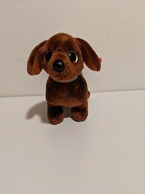 Ty Beanie Baby ~ Frank the Dachshund Dog ~ NO TAG
