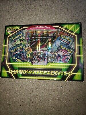 Pokemon TCG: Shiny Rayquaza-EX Box Card Game  NEW-SEALED comprar usado  Enviando para Brazil