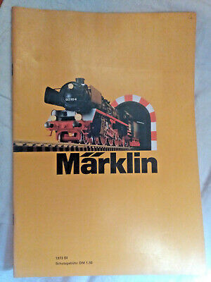 Modellbau-Eisenbahn: Märklin - Katalog 1973 DI