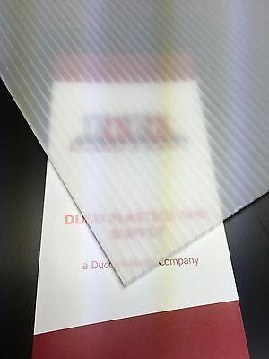 4mm Translucent 24 X 12 2 Pc Corrugated Plastic Coroplast Sheets Sign