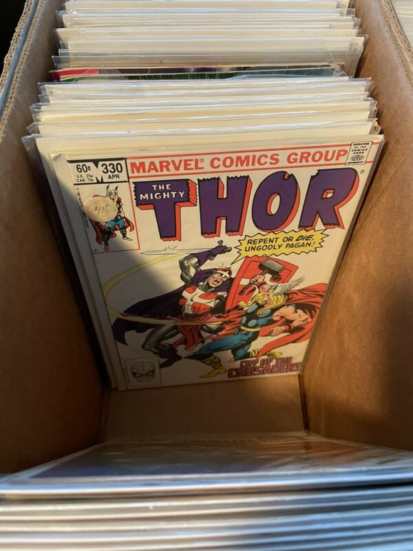 Lot of (15) DIFFERENT THOR Comic Books