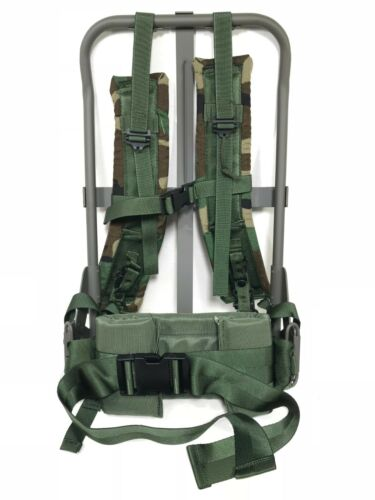 LC-2 ENHANCED Alice Pack Frame WITH Woodland Straps NEW