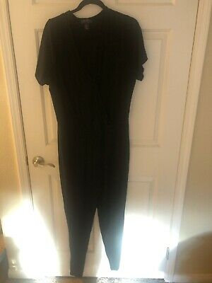 Forever21 Plus Size 3x Black Sexy Jumpsuit - Sexy Plus Size Jumpsuits