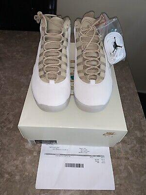 Nike Air Jordan 10 Solefly SP 10th Anniversary Size 11.5 CW5854-200 W/Receipt