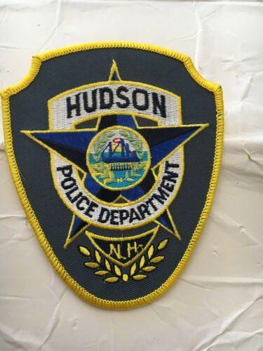 Hudson New Hampshire Vintage Police Patch Version 3