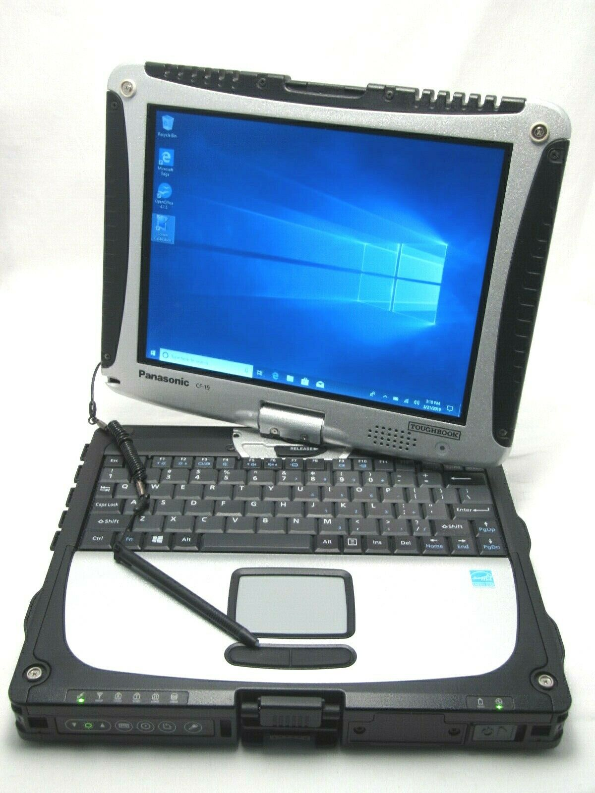 Panasonic ToughBook CF-19 MK8 TouchScreen i5-3610ME 2.7Ghz 8GB 500GB WiFi BT COM