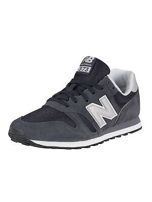 New Balance Men's 373 Suede Trainers, Blue