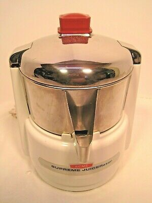 ACME SUPREME JUICERATOR MODEL 11JE21, CAT 6001, MADE IN USA