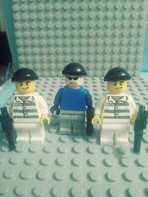NEW LEGO MAFIA HITMAN MINIFIG gangster violin case tommy gun minifigure mob guy