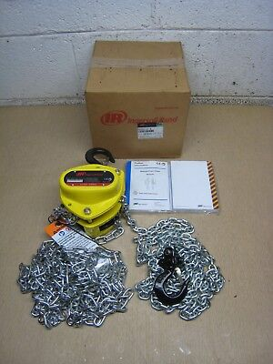 New Ingersoll Rand Km050-10-8 12 Ton 10 Lift Chain Block Hoist Free Shipping