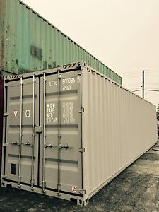 NEW 40' High Cube Storage Container