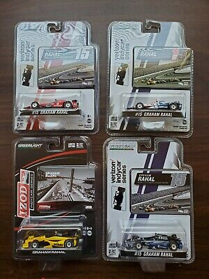 Graham Rahal lot of 4 1/64 indycar diecast new in package