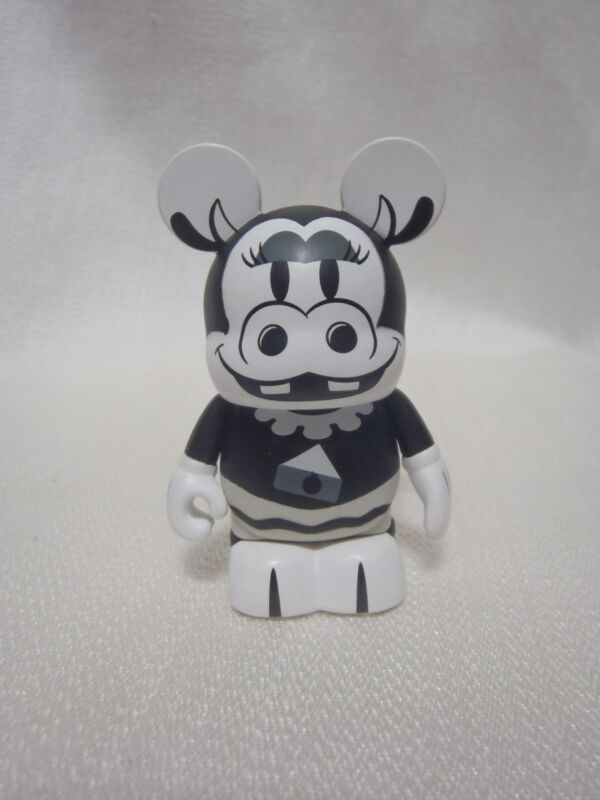 "Disney Vinylmation Classics Collection CLARABELLE COW 3"" Black White Figure"