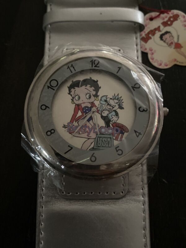 BRAND NEW Collectible Betty Boop USA Watch~Wide Band~ FREE SHIPPING~
