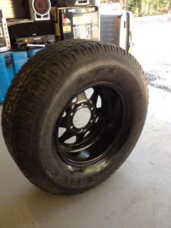 spare 4x4 rim and tyre Logan Village Logan Area Preview