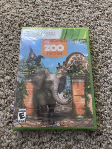 Zoo Tycoon Microsoft Xbox 360, 2013 Brand New Factory Sealed - $24.99