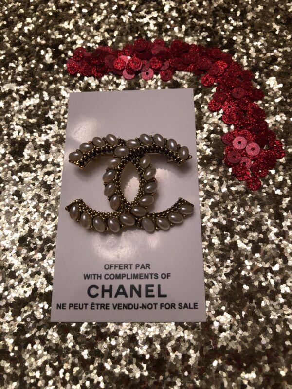 Chanel Vip Brooch