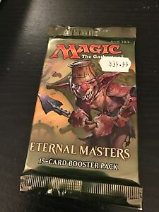 ETERNAL MASTERS 15 card booster pack