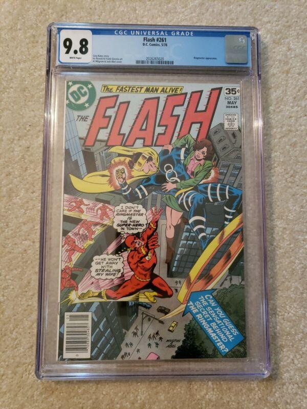 Flash 261 CGC 9.8 perfect case DC Comics 1978