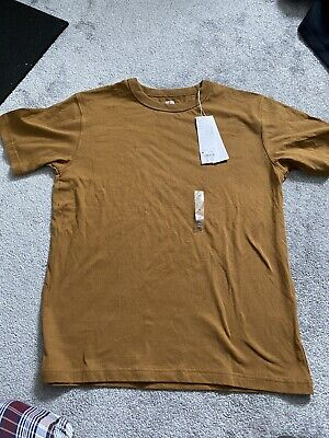 Uniqlo Cotton T-Shirt Mustard M Medium