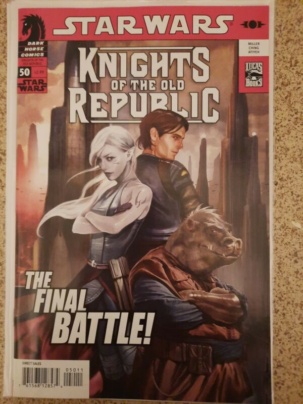 STAR WARS KNIGHTS of the OLD REPUBLIC #50 Dark Horse (2009) NM Combine Shipping