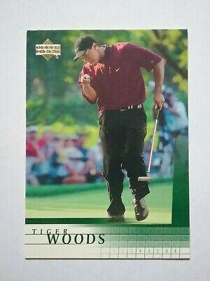 2001 Upper Deck Golf Tiger Woods Rookie Card.