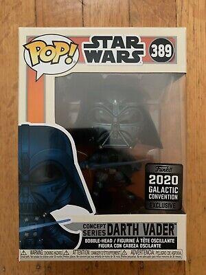 Pop! Star Wars: Darth Vader Concept Series Galactic Convention 2020