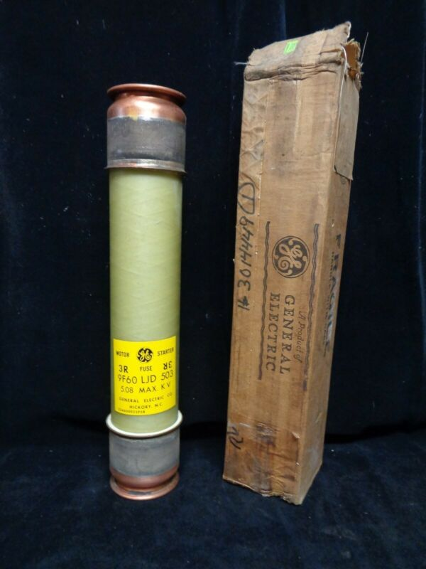 GENERAL ELECTRIC ~ MOTOR STARTING FERRULE FUSE ~ 9F60LJD503 ~ NEW IN THE BOX