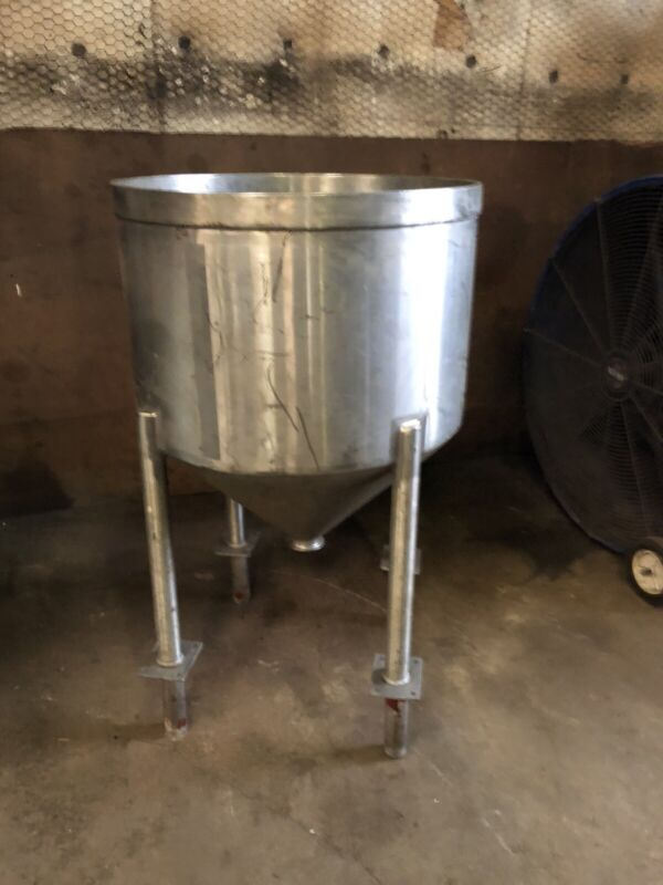 Stainless steel kettle 60 gal