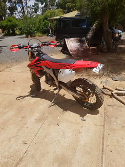 $4200 for x $5000 for both Crf 450x and crf 450r 5000kms