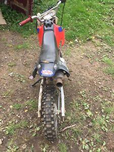 70 baja dirt bike.