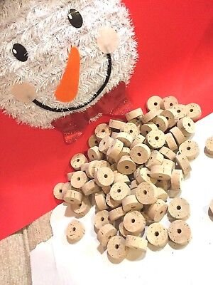 Special pricing 100 Pcs   Special Grade   cork rings 1 1/4 x 1/2 x 1/4 bore