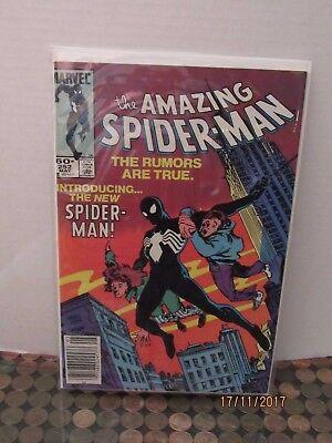 an #252 Marvel 1st Schwarz Spider-Man Kostüm in Dieser Serie (The Amazing Spider Man Kostüm)