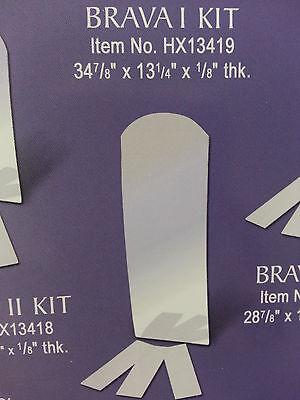 Mirror & Shelves Kit for Henta Brava I Wall Niche DIY Cabine