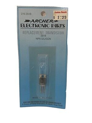Archer Radioshack Npn Silicon Replacement Transistor Electronic Parts 276-2018