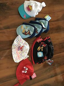 Brand new with tags, baby and toddler hats
