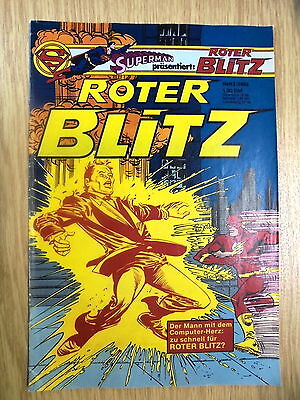 1 x Superman präsentiert: ROTER BLITZ - Heft 3/1982