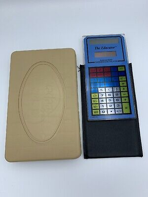 The Educator Intermediate Calculator Overhead Projector Vintage