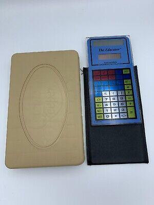 The Educator Intermediate Calculator Overhead Projector Vintage