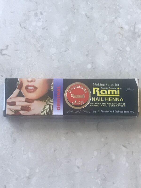❤*Original* Rami Nail Henna Mendhi Polish Dye