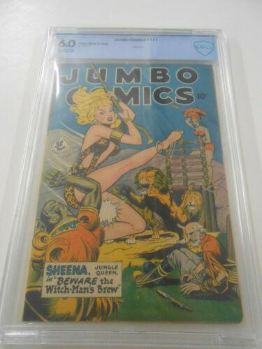 Jumbo Comics #111 (May 1948, Fiction House) 6.0 CBCS not CGC Nice Sheena