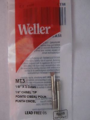 Weller Chisel Shaped Replacement Tip #MT3  1/8