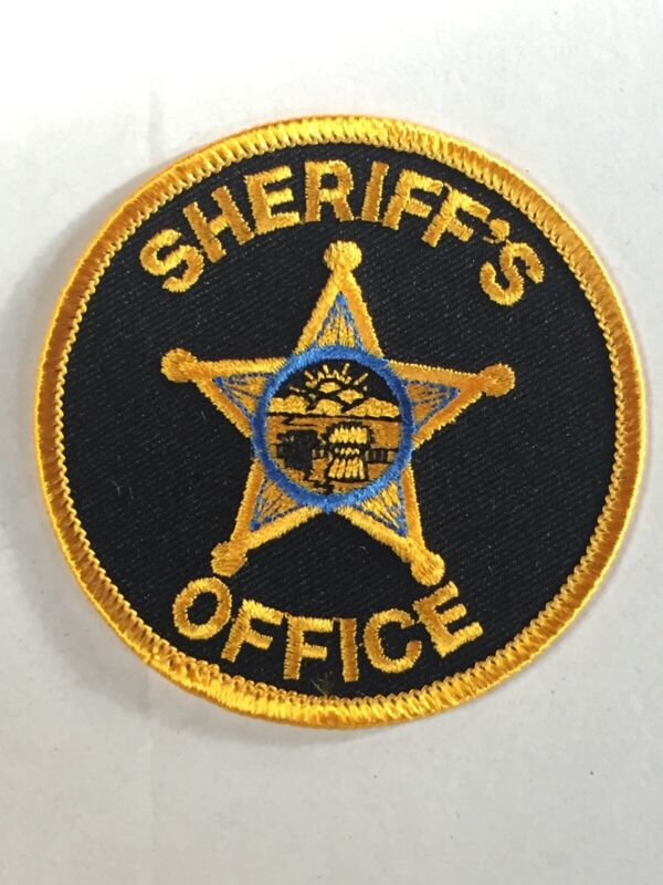 Ohio Sheriff Office Patch Round Star OH County Law Enforcement