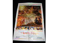 Lord of the Rings Movie Animated Poster Ralph Bakshi A3 Home Cinema Wall Decor
