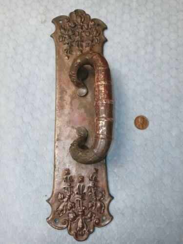 Sliding Door Pull Cast Bronze