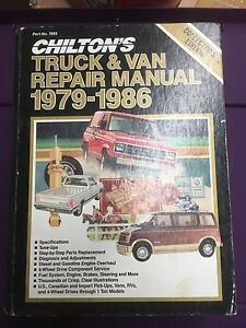 Chilton Truck and Van Repair Manual