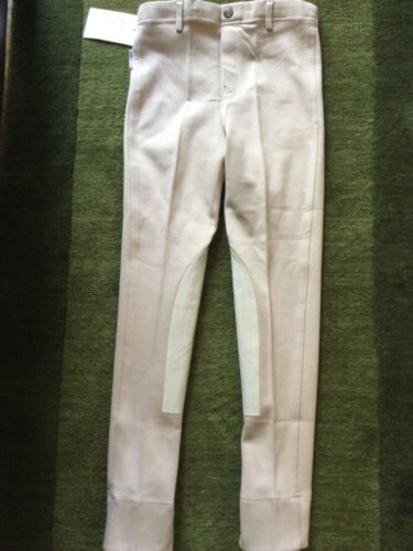 EquiStar Child 12+ Pull-on Jod Breeches Horse Riding Pants Neutral Beige 12 Plus